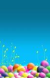 Affiche orientée de Pâques illustration libre de droits
