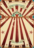 Affiche sale de cirque illustration stock