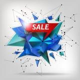 Affiche superbe de vente, bannière Grande vente, dégagement Illustration de vecteur Photo libre de droits