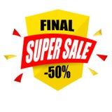 Affiche superbe de vente, bannière Grande vente, dégagement Illustration de vecteur illustration de vecteur