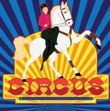 Affiche van circus Royalty-vrije Stock Foto