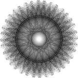 Affiche van het meetkunde de minimalistic kunstwerk met eenvoudig vorm en cijfer vector illustratie