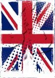 Affiche van het Verenigd Koninkrijk stock illustratie