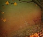 Affiche voor Halloween stock illustratie