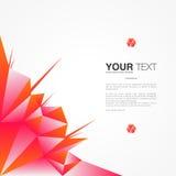 Afficheontwerp met uw tekst royalty-vrije illustratie