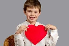Afficher mon amour à tout le monde Image libre de droits