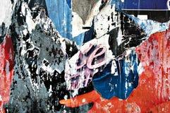 Affiches déchirées Photo libre de droits