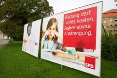 Affiches de campagne électorale Images stock