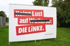 Affiches de campagne électorale Image stock