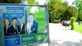 2019 affiches de candidats d'?lection du Parlement europ?en clips vidéos