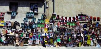Affiches de festival de théâtre d'Avignon Photographie stock libre de droits
