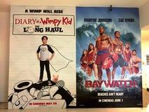 Affiches de film Image stock