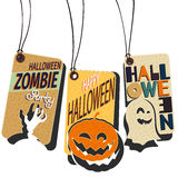 Affiches de Halloween Photographie stock
