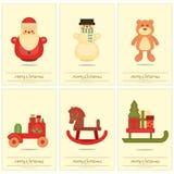 Affiches de Joyeux Noël illustration stock