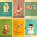 Affiches de Joyeux Noël Image stock
