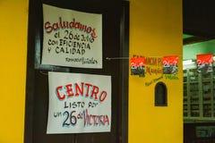 Affiches in Vinales, Cuba Royalty-vrije Stock Afbeeldingen