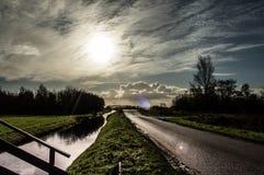 Affilez le soleil photographie stock libre de droits