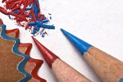 Affilez les crayons photo stock