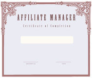 Affiliate Manager Royalty Free Stock Photos