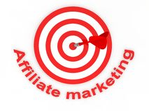 Affiliate marketing. Concept in 3D Stock Photography