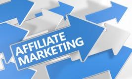 Affiliate Marketing Stock Image