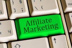 Affiliate Marketing key Stock Image