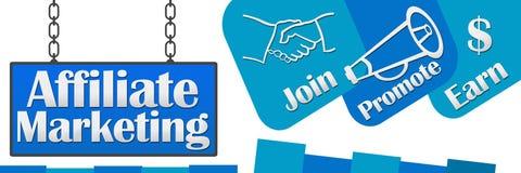 Affiliate Marketing Signboard Horizontal Royalty Free Stock Photography