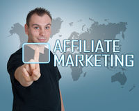 Affiliate Marketing Stock Image