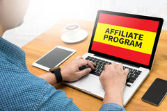 Affiliate Program Stock Image