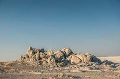 Affioramento roccioso immagine stock
