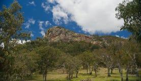 Affioramento roccioso Fotografie Stock