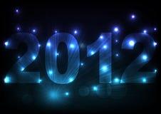 affisch 2012 Arkivfoton