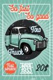Affisch för bärgningsbil för färgtappningbil Arkivfoto