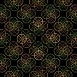 affisch för fractal för bakgrundskortdesign god Royaltyfri Fotografi
