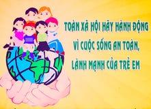 affisch vietnam royaltyfria foton