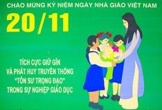 affisch vietnam Royaltyfria Bilder