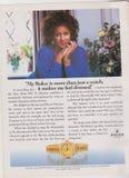 affischen som annonserar den Rolex klockan i tidskrift från 1992, min Rolex, är mer, än precis en klocka, det gör mig att känna k arkivfoton