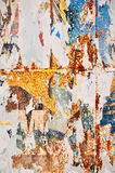 affischtexturvägg Arkivbild
