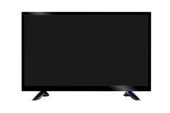 Affissione a cristalli liquidi dello schermo piano della TV Immagini Stock