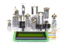 Affissione a cristalli liquidi di sviluppo Immagine Stock