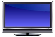 AFFISSIONE A CRISTALLI LIQUIDI TV Fotografia Stock