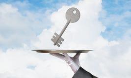 Affitto del bene immobile e concetti di acquisto Immagini Stock Libere da Diritti