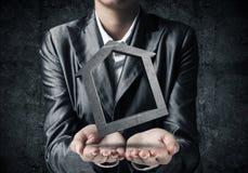 Affitto del bene immobile e concetti di acquisto Immagine Stock Libera da Diritti