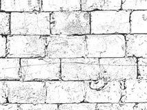 Affligez la vieille texture de mur de briques Vecteur EPS8 illustration de vecteur