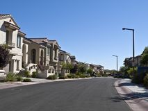 Affluent Desert Suburbia Stock Photos