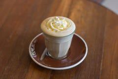 Affogato кофе с ванильным мороженым Стоковые Фотографии RF
