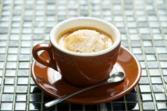 Affogato Fotografia de Stock Royalty Free
