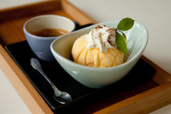 Affogato ready to drink Stock Images