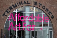 Affordable Art Fair NYC 2014 Royalty Free Stock Photos