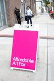Affordable Art Fair NYC 2014 Stock Photos